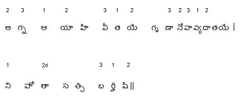 Samaveda-Telugu-AgnaAyahi